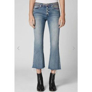Blank NYC The Varick High Rise kick Flare jeans
